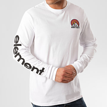 Element - Tee Shirt Manches Longues Sonata Blanc