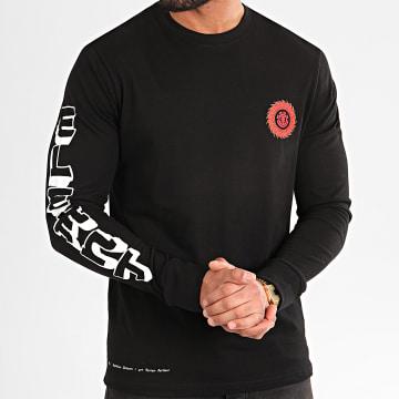 Element - Tee Shirt Manches Longues Florian Noir