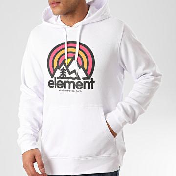 Element - Sweat Capuche Sonata Blanc