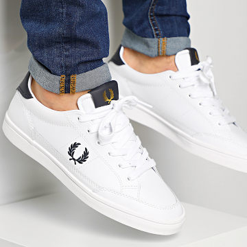 Fred Perry - Baskets Deuce Leather B8199 White