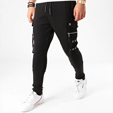 Ikao - Pantalon Jogging F673 Noir