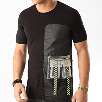 Ikao - Tee Shirt Poche F879 Noir