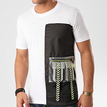 Ikao - Tee Shirt Poche F879 Blanc