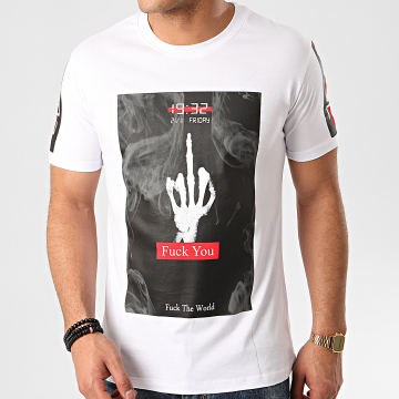 Ikao - Tee Shirt F824 Blanc