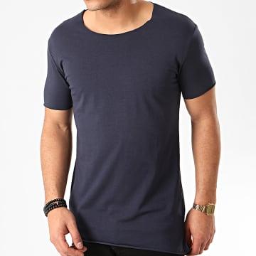 Tee Shirt Oversize F925 Bleu Marine
