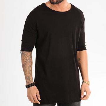 Ikao - Tee Shirt Oversize F853 Noir