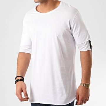 Tee Shirt Oversize F853 Blanc