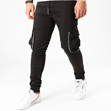 Ikao - Jogger Pant F882 Noir