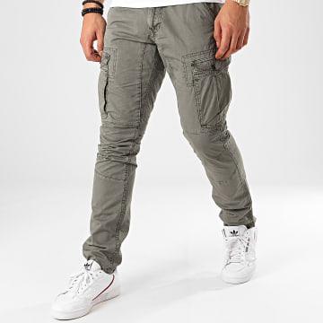 Indicode Jeans - Pantalon Cargo Guadalajara Gris