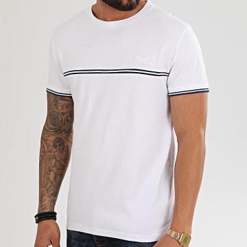 Superdry - Tee Shirt OL Rib M1010051A Blanc