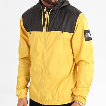 The North Face - Coupe-Vent A Capuche 1990 Mountain A2S4Z Jaune Moutarde