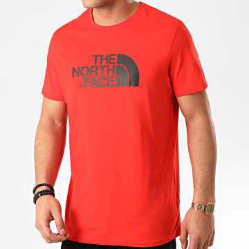The North Face - Tee Shirt Easy A2TX3 Rouge
