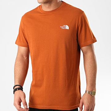 The North Face - Tee Shirt Simple Dome TX5U Marron