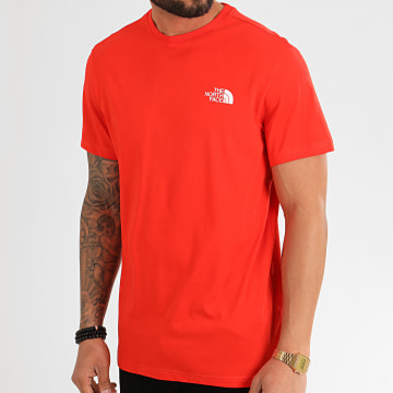Tee Shirt Simple Dome 2TX5 Rouge