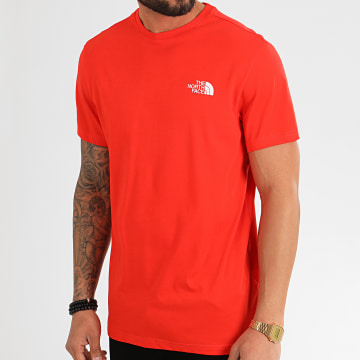The North Face - Tee Shirt Simple Dome 2TX5 Rouge