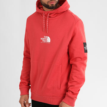 The North Face - Sweat Capuche Fine Alpine A3XY3 Rouge Brique