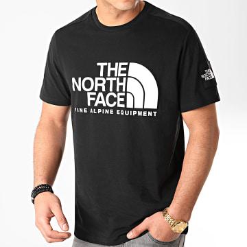 Tee Shirt Fine 2 M6NJ Noir