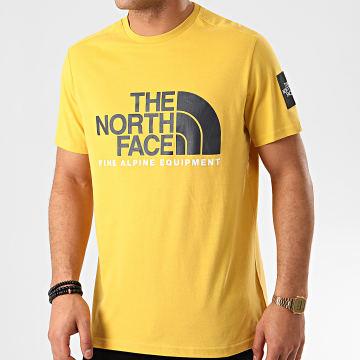 The North Face - Tee Shirt Fine 2 M6NZ Jaune