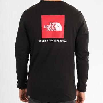 Tee Shirt Manches Longues Red Box 93LJ Noir