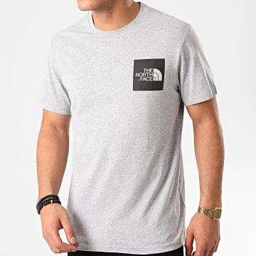 Tee Shirt Fine EQ50 Gris Chiné