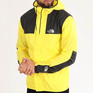 The North Face - Coupe-Vent A Capuche 1985 Mountain CH37 Jaune
