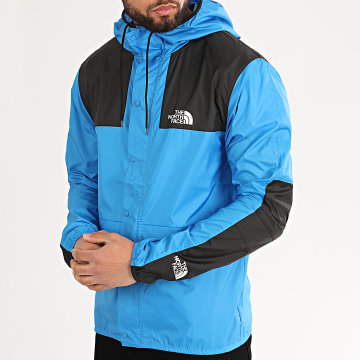 The North Face - Coupe-Vent Mountain 1985 CH37 Bleu Azur