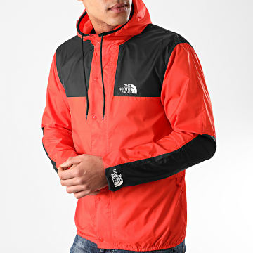The North Face - Coupe-Vent Capuche 1985 Mountain CH37 Rouge
