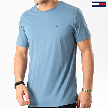 Tee Shirt Essential Solid 4577 Bleu