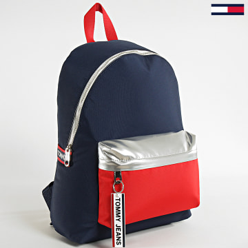 Sac A Dos Logo Tape Backpack 5915 Bleu MArine