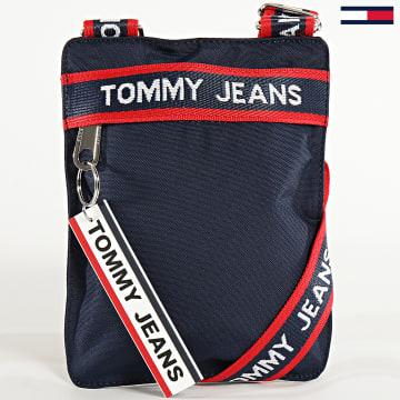 Tommy Jeans - Sacoche Logo Tape 6102 Bleu Marine