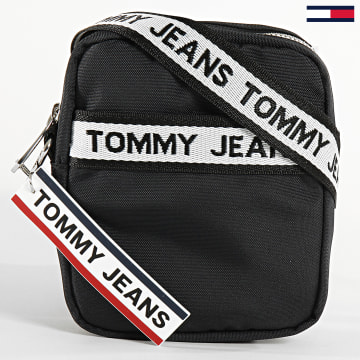 Tommy Jeans - Sacoche Logo Tape Reporter 6151 Noir
