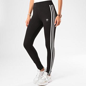 Adidas Originals - Legging Femme A Bandes FM3287 Noir