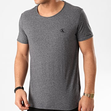 Tee Shirt Grindle Raw Edge 5169 Gris Anthracite Chiné