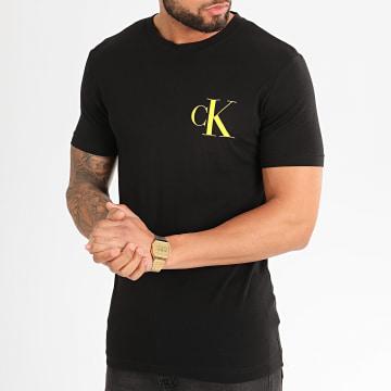 Tee Shirt Institutional Back Pop Logo 5175 Noir