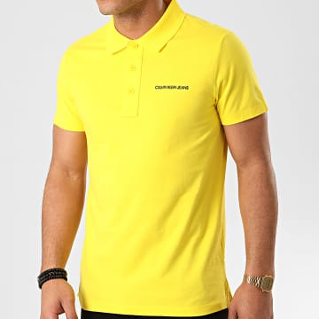 Polo Manches Courtes Stretch Institutional 5344 Jaune