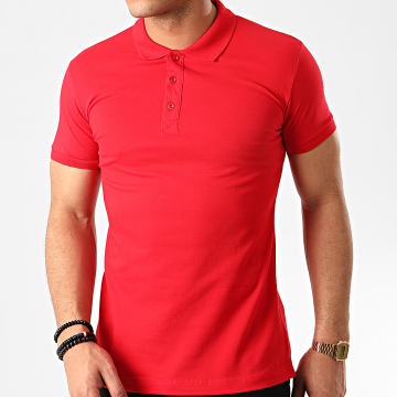 Polo Manches Courtes B001 Rouge