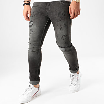 Classic Series - Jean Skinny 4566 Gris Anthracite