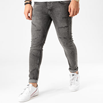Classic Series - Jean Skinny 4515 Gris Anthracite