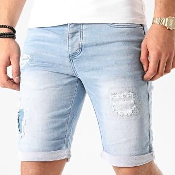 Deeluxe - Short Jean S20JG850BLEC Bleu Denim
