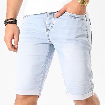 Deeluxe - Short Jean S20PJG854BLEC Bleu Denim