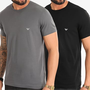 Lot De 2 Tee Shirts 111267-9P722 Noir Gris