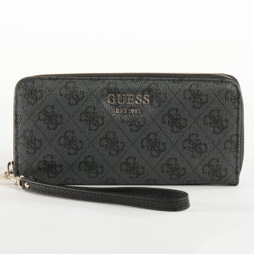 Guess - Portefeuille Femme SWSG69 Gris Anthracite