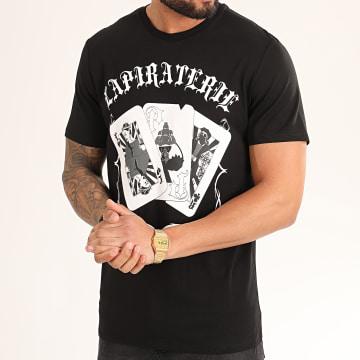 La Piraterie - Tee Shirt Cartes Noir