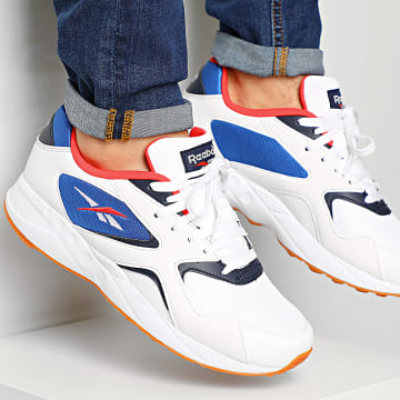 Reebok - Baskets Torch Hex EH1804 White Radical Red Collegiate Navy