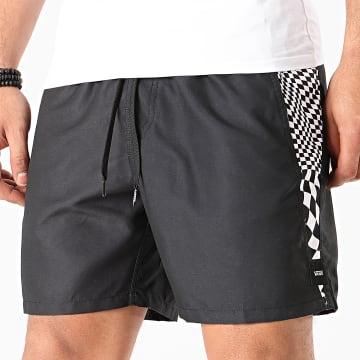 Vans - Short De Sport V-Panel Volley A49R4 Noir