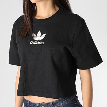 Tee Shirt Femme LG FM2630 Noir