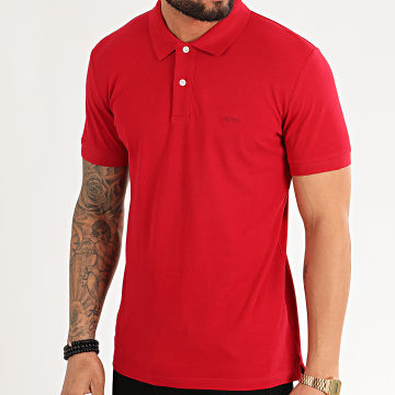 Polo Manches Courtes 020EE2K303 Rouge