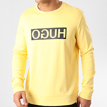 HUGO by Hugo Boss - Sweat Crewneck Dicago 202 50425735 Jaune