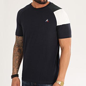 Le Coq Sportif - Tee Shirt Tricolore BBR 2011144 N2 Bleu Marine