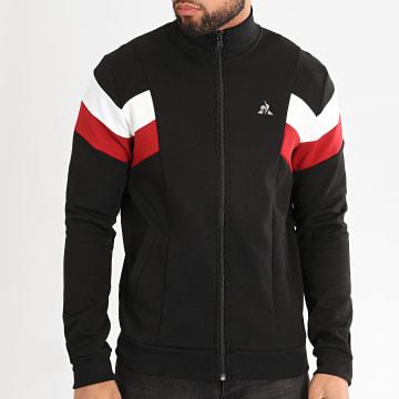 Le Coq Sportif - Sweat Zippé Tricolore Pronto N1 2011133 Noir
